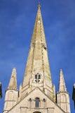 De Kathedraal van Norwich Stock Foto's