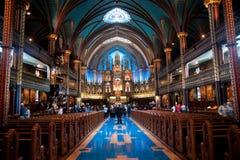 De Kathedraal van Notre-Dame Stock Foto