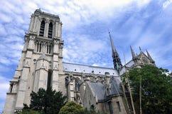 De Kathedraal van Notre Dame Royalty-vrije Stock Foto's