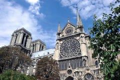 De Kathedraal van Notre Dame Royalty-vrije Stock Fotografie