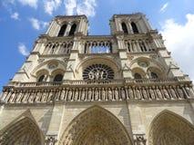 De Kathedraal van Notre-Dame Royalty-vrije Stock Foto