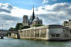 De Kathedraal van Notre-Dame - Parijs stock fotografie