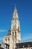 De Kathedraal van onze Dame stock afbeeldingen