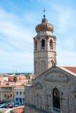 De kathedraal van Oristano stock afbeelding