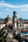 De kathedraal van Oristano stock foto's