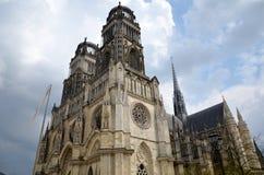 De kathedraal van Orléans, Frankrijk Royalty-vrije Stock Foto's