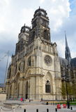 De kathedraal van Orléans, Frankrijk Stock Afbeelding