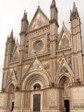 De kathedraal van Orvieto Stock Fotografie