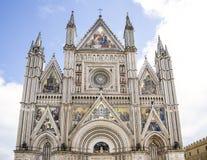 De kathedraal van Orvieto Royalty-vrije Stock Foto