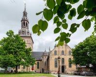 De Kathedraal van Oslo is de belangrijkste kerk voor de Kerk van Noorwegen Dioce Stock Foto