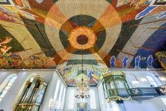 De Kathedraal van Oslo - Noorwegen royalty-vrije stock foto's
