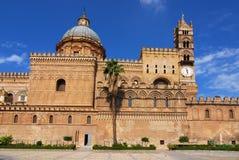 De Kathedraal van Palermo Royalty-vrije Stock Foto's