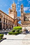 De kathedraal van Palermo Stock Afbeelding