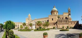 De kathedraal van Palermo Santa Vergine Maria Assunta Royalty-vrije Stock Foto's