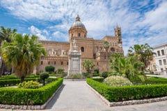 De Kathedraal van Palermo, Sicilië Stock Foto
