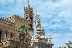 De Kathedraal van Palermo, Sicilië Stock Afbeelding