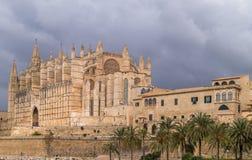 De kathedraal van Palma de Majorca Stock Fotografie