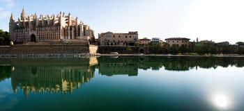 De kathedraal van Palma DE Mallorca stock foto