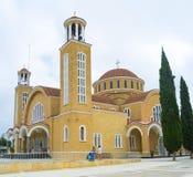 De Kathedraal van Paralimni royalty-vrije stock foto's