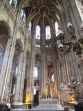 De Kathedraal van Parijs Stock Afbeelding