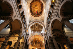 De kathedraal van Pisa stock afbeeldingen