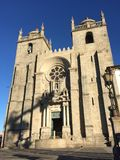 De Kathedraal van Porto Sé Stock Foto