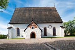 De Kathedraal van Porvoo Royalty-vrije Stock Foto's