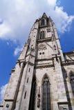 De Kathedraal van Regensburg Royalty-vrije Stock Foto