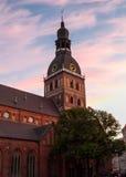 De kathedraal van Riga Stock Afbeeldingen