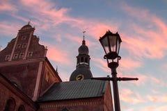 De kathedraal van Riga Stock Foto