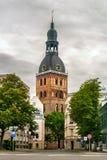 De kathedraal van Riga Stock Afbeelding