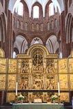 De kathedraal van Roskilde Stock Fotografie