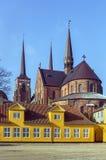 De Kathedraal van Roskilde, Denemarken Royalty-vrije Stock Afbeelding