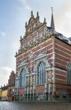 De Kathedraal van Roskilde, Denemarken stock fotografie