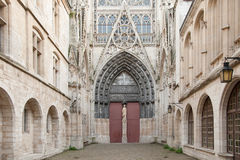 De Kathedraal van Rouen Royalty-vrije Stock Fotografie