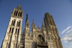 De kathedraal van Rouen Royalty-vrije Stock Afbeelding
