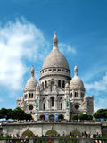 De Kathedraal van Sacrécœur in Montmartre, Parijs Stock Foto
