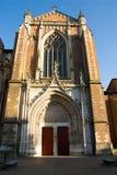 De Kathedraal van Saint-Etienne Stock Foto's