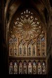 De Kathedraal van Saint-Etienne DE Metz Stock Fotografie