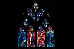 De Kathedraal van Saint-Etienne DE Metz Stock Foto