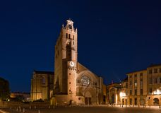 De kathedraal van Saint-Etienne in Toulouse, Frankrijk Royalty-vrije Stock Afbeelding