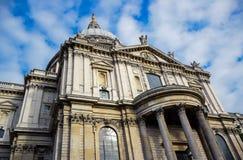 De Kathedraal van Saint Paul ` s in Londen, Engeland stock foto's
