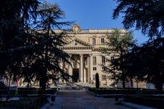 De kathedraal van Salamanca stock fotografie