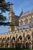 De Kathedraal van Salisbury stock afbeelding