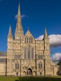 De kathedraal van Salisbury Royalty-vrije Stock Afbeeldingen