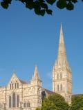 De kathedraal van Salisbury Royalty-vrije Stock Foto's