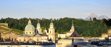 De Kathedraal van Salzburg. Royalty-vrije Stock Afbeeldingen