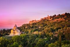 De kathedraal van San Biaggio royalty-vrije stock foto's