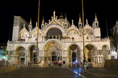 De kathedraal van San Marco in Venetië stock fotografie