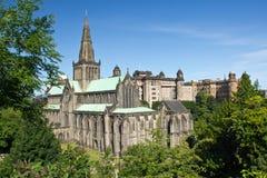 De kathedraal van Schotland, Glasgow Stock Afbeeldingen